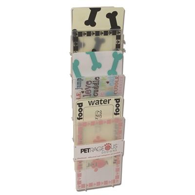 Vertical Placemat Rack Cream