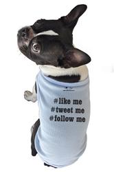 #like me, #tweet me, #follow me Tank Top