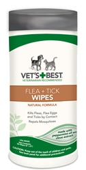 Flea + Tick Wipes 50 ct.