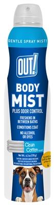 OUT! Clean Cotton Body Mist