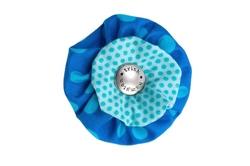 Blossom - Blue/Aqua Dots