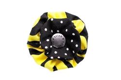 Blossom - Yellow/Black Dots