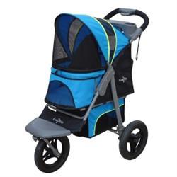 G7 Trailblazer Blue Jogger™ Pet Stroller