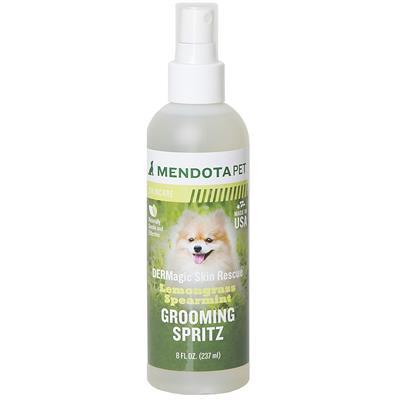 8 fl oz Skin Rescue Grooming Spritz (w/ Neem Oil) - Lemongrass & Spearmint