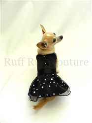 Little Black Sparkle Dress by Ruff Ruff Couture®