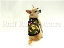 Camo Green American Summer Tank by Ruff Ruff Couture®