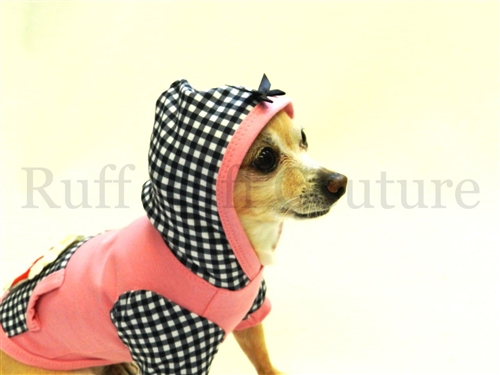 Popcorn Time Girl Hoodie by Ruff Ruff Couture®