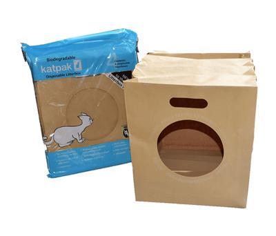 Katpak - Disposable Litter Box - 4 Pack