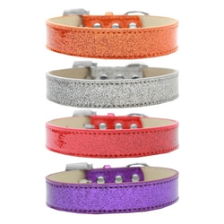 Plain Ice Cream (Glitter) Dog Collars