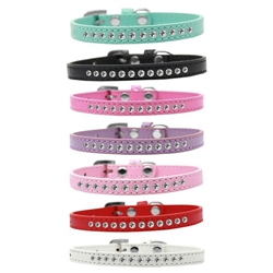 Clear Crystal Puppy Collar