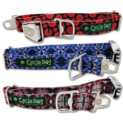 "Cycle Dog EcoWeave Regular 1"" Width Metal Buckle Collars"