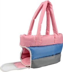 Tri-Colored Insulated Pet Carrier