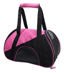 Pink Airline Approved Zip-N-Go Contoured Pet Carrier