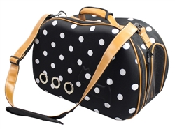 Fashion Dotted Designer Pet Carrier