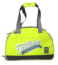 Yellow Green Touchdog Original Wick-Guard Water Resistant Fashion Pet Carrier