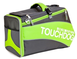 Lime Yellow Green Touchdog Modern-Glide Airline Approved Water-Resistant Dog Carrier