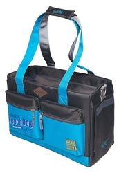 Turquoise Blue Touchdog Active-Purse Water Resistant Dog Carrier