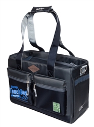 Black Touchdog Active-Purse Water Resistant Dog Carrier
