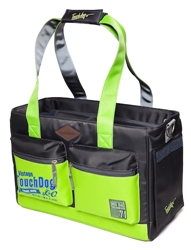 Yellow Green Touchdog Active-Purse Water Resistant Dog Carrier