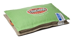 Mint Green Touchdog Sporty Shock-Stitched Reversible Rectangular Thick Dog Mat
