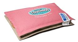 Light Pink Touchdog Sporty Shock-Stitched Reversible Rectangular Thick Dog Mat