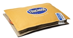 Mustard Yellow Touchdog Sporty Shock-Stitched Reversible Rectangular Thick Dog Mat