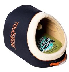 Royal Blue Touchdog Indoor Active-Play Exquisite Panoramic Designer Vintage Emblem Dog Bed