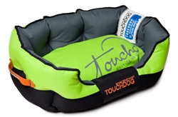 Mink Green Toughdog Performance-Max Sporty Comfort Cushioned Dog Bed