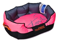 Pink Toughdog Performance-Max Sporty Comfort Cushioned Dog Bed
