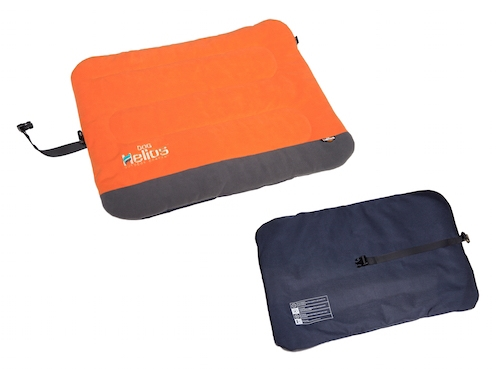 Orange Helios Combat-Terrain Outdoor Cordura-Nyco Travel Folding Dog Bed