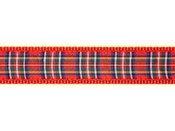 """Royal Stewart Plaid - 3/4"""" Collars, Leashes and Harnesses"""
