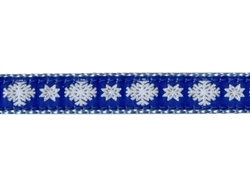 """Snowflake - 1.25"""" Collars, Leashes and Harnesses"""