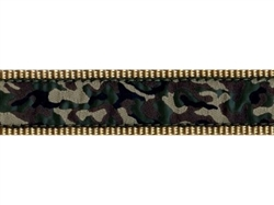 """Green Camo - 3/4"""" Collars, Leashes and Harnesses"""