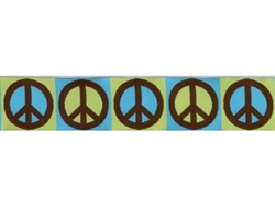 """Peace Sign - 1.25"""" Collars, Leashes and Harnesses"""
