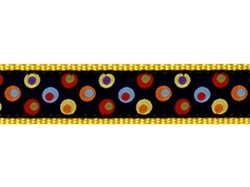 """Dozer's Dots - 3/4"""" Collars, Leashes and Harnesses"""