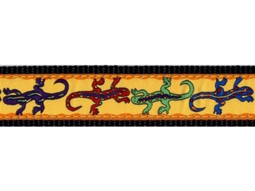 "Lizards - 3/4"" Collars, Leashes and Harnesses"