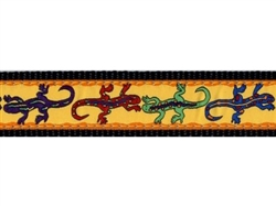 """Lizards - 1.25"""" Collars, Leashes and Harnesses"""