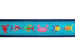 "Under the Sea - 1.25"" Collars, Leashes and Harnesses"