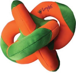 Orange/Green Water Loopie 8""