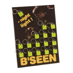 B'Seen Night Light with Reflector Display
