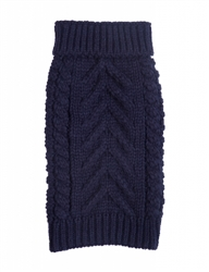Navy Super Chunky Turtleneck