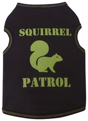 Squirrel Patrol - Tank - Chocolate