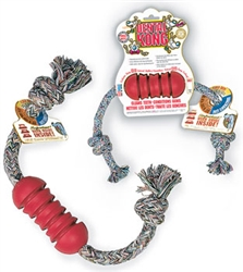 Dental Kong® Toy with Rope, Small/Medium