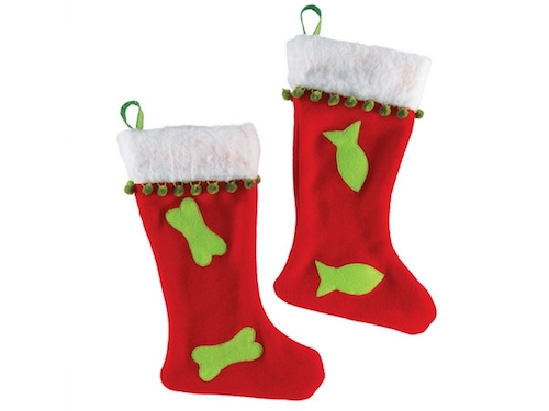 Christmas Fleece Stockings