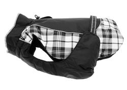 Black & White Plaid Alpine All Weather Coat