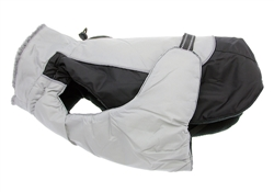 Black & Limestone Gray Solid Alpine All Weather Coat