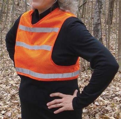Orange Walker Visibility Vest