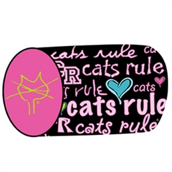 Cat's Rule Cylinder Catnip Toy