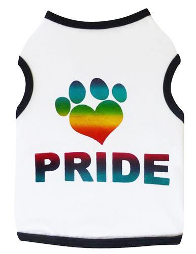 Pride Paw - Tank - White