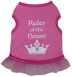 Ruler of the House - Tank Dress - Taffy Pink